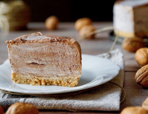 No Bake Walnut Cake