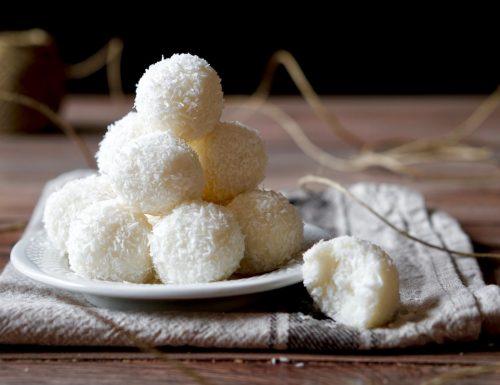 Coconut Ricotta Truffles