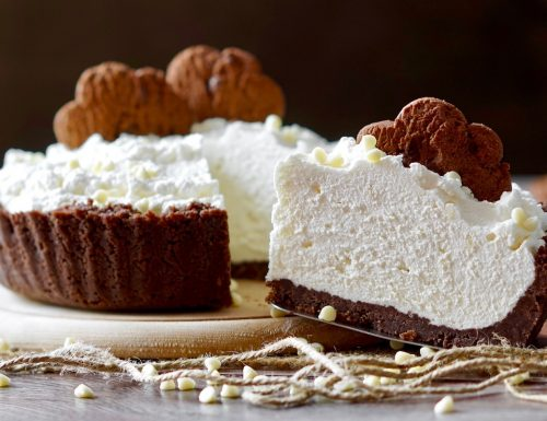 No Bake White Chocolate Pie