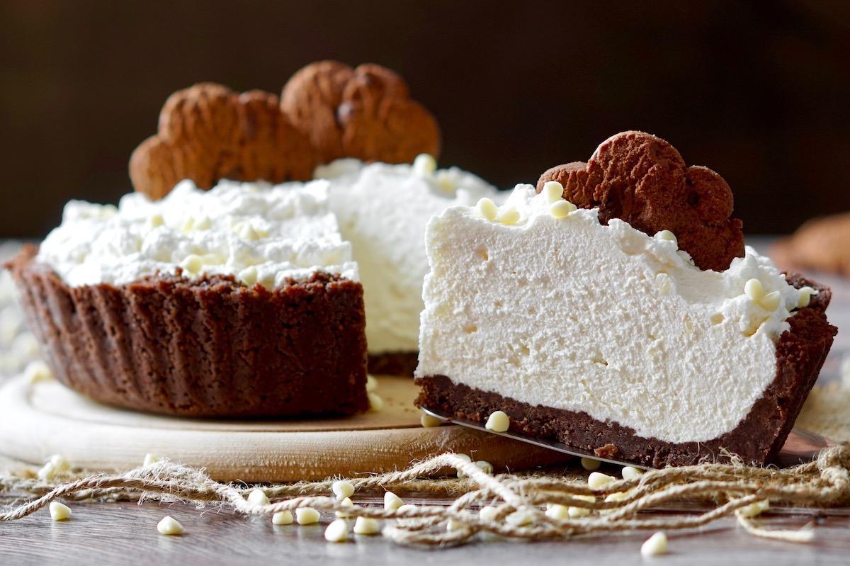 No Bake White Chocolate Pie