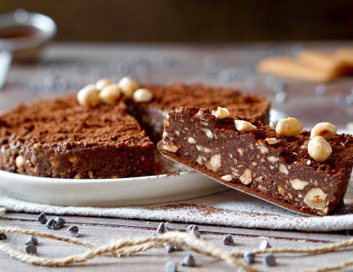 No Bake Chocolate Hazelnut Cake