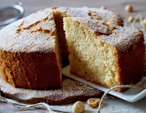 Fluffy Hazelnut Cake