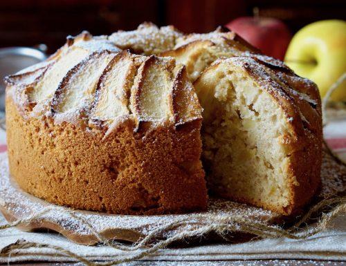 Water Apple Cake