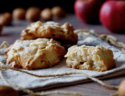 Little Apple Walnut Cakes