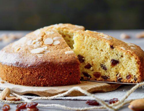 Almond Raisin Cake