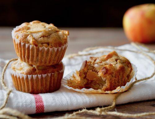 Buckwheat Flour Apple Muffins