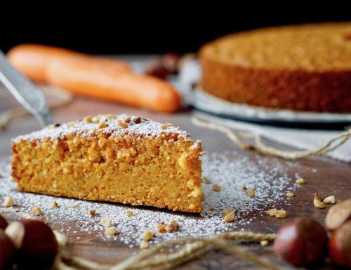 Hazelnut Carrot Cake
