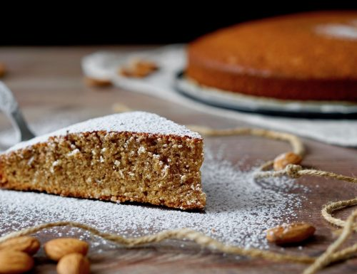 5 Minutes Almond Coffee Cake