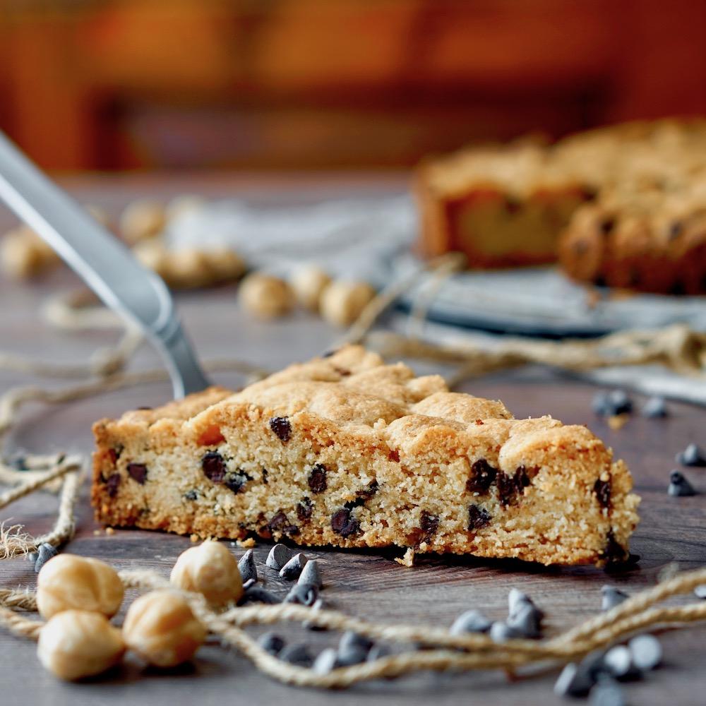 Chocolate Hazelnut Cookie Cake