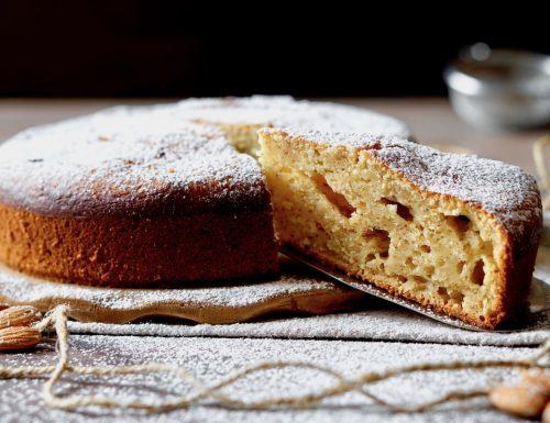 Ricotta Almond Soft Cake