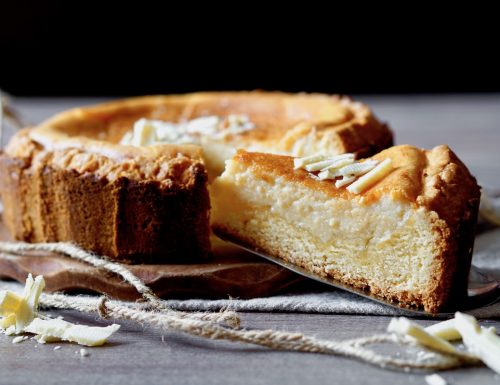 White Chocolate Ricotta Tart