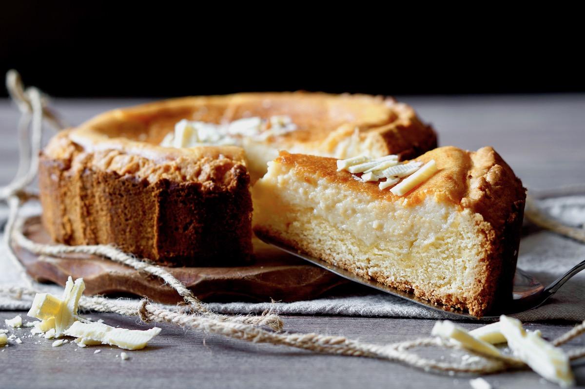 White Chocolate Ricotta Tart