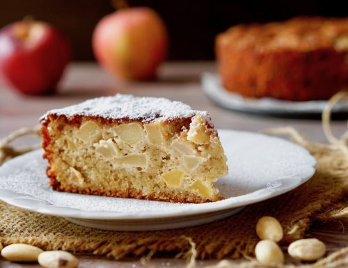 Flourless Apple Almond Cake