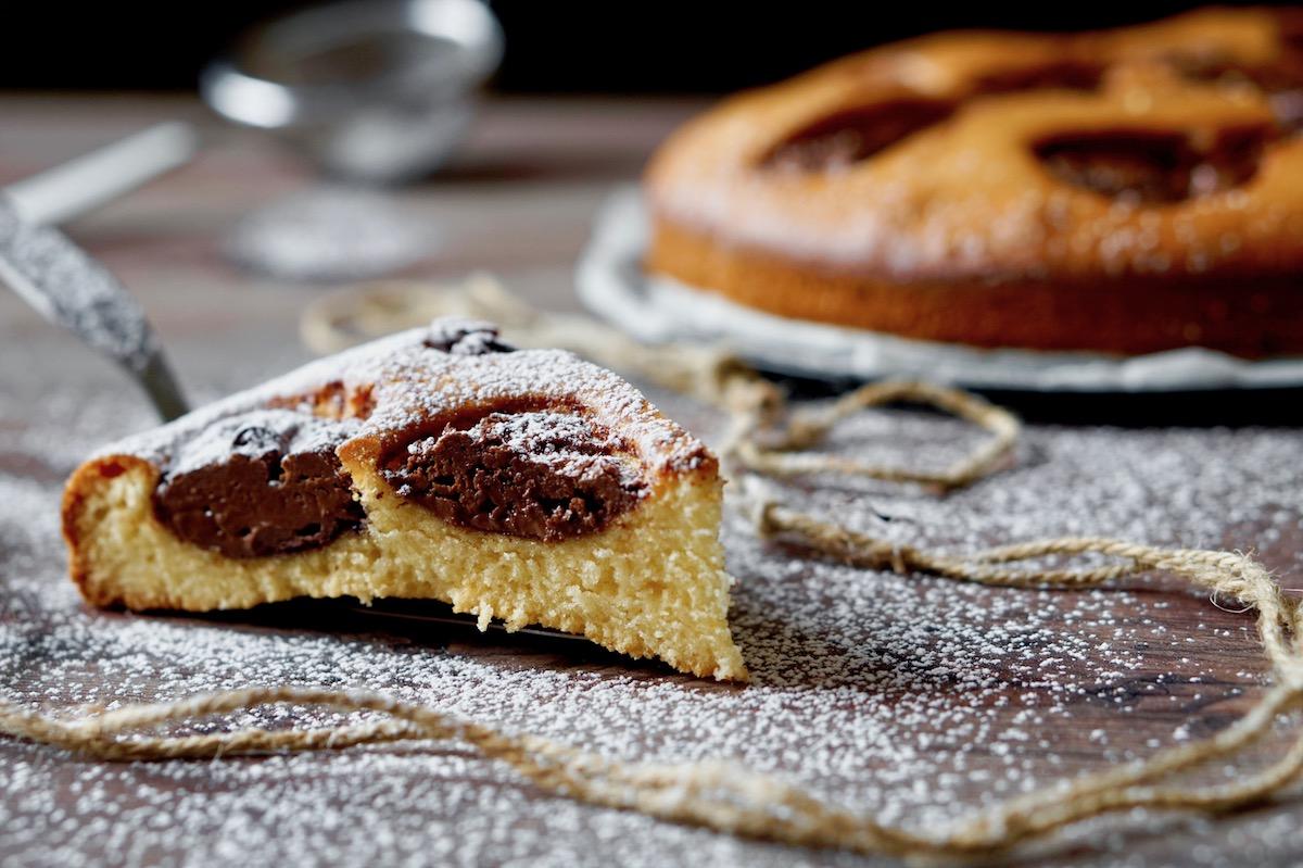 5 Minutes Nutella Cake